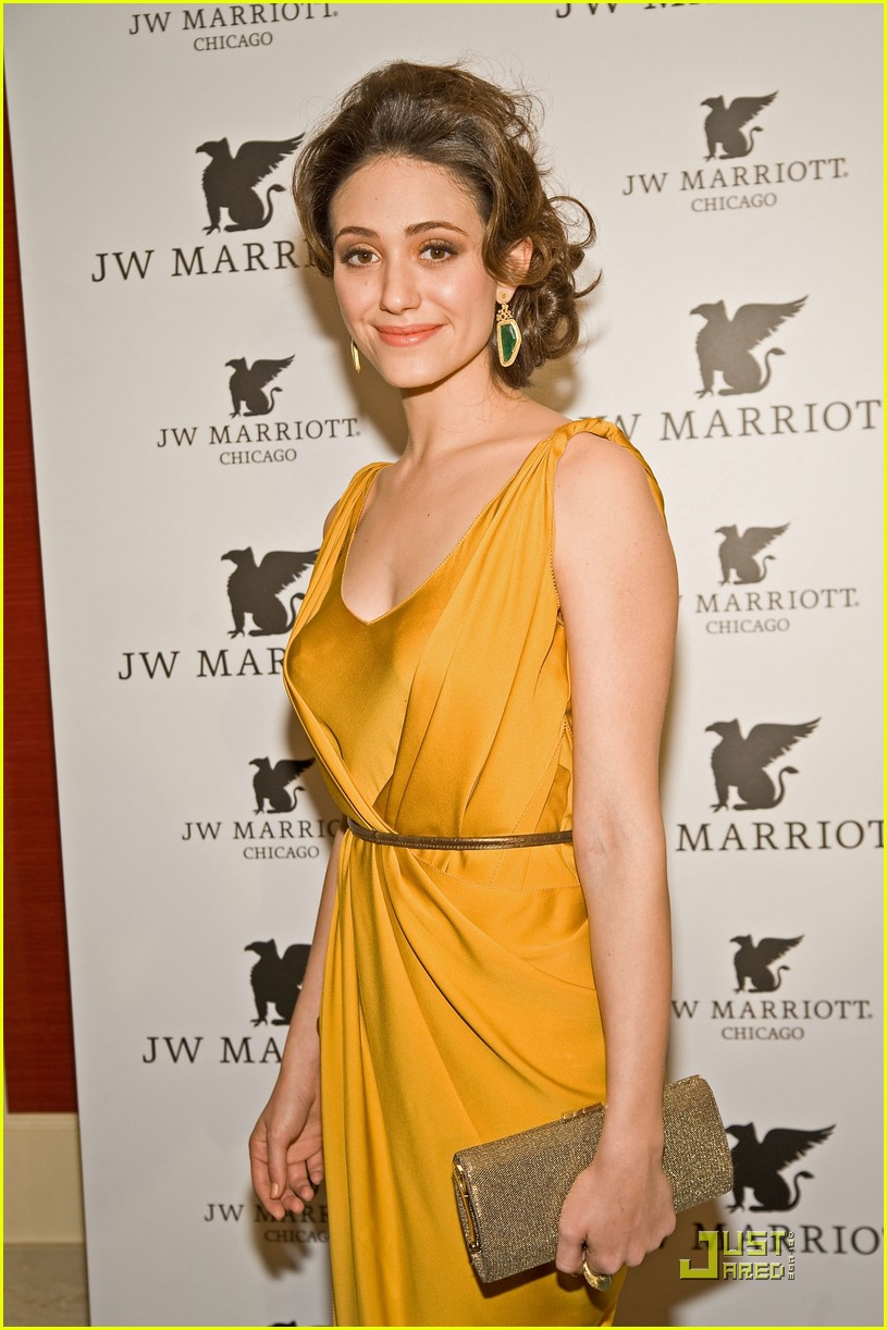 emmy rossum jw marriott chicago grand opening 04
