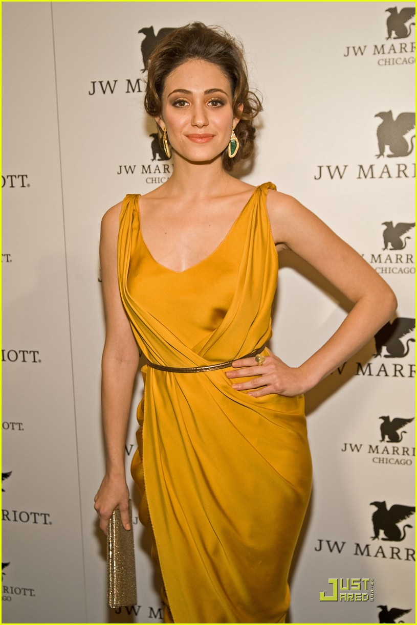 emmy rossum jw marriott chicago grand opening 07