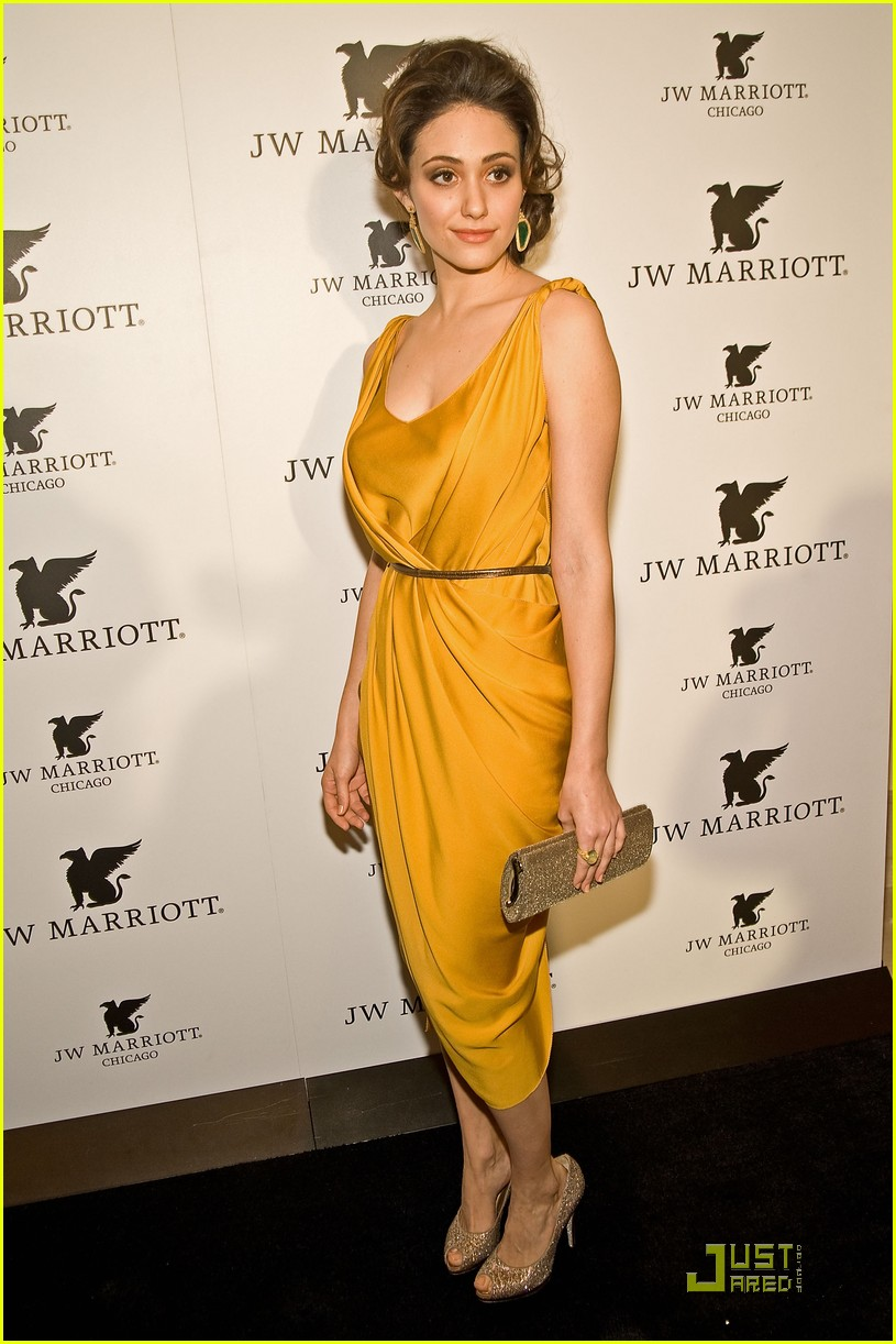 emmy rossum jw marriott chicago grand opening 11