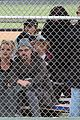 britney spears little league game  05
