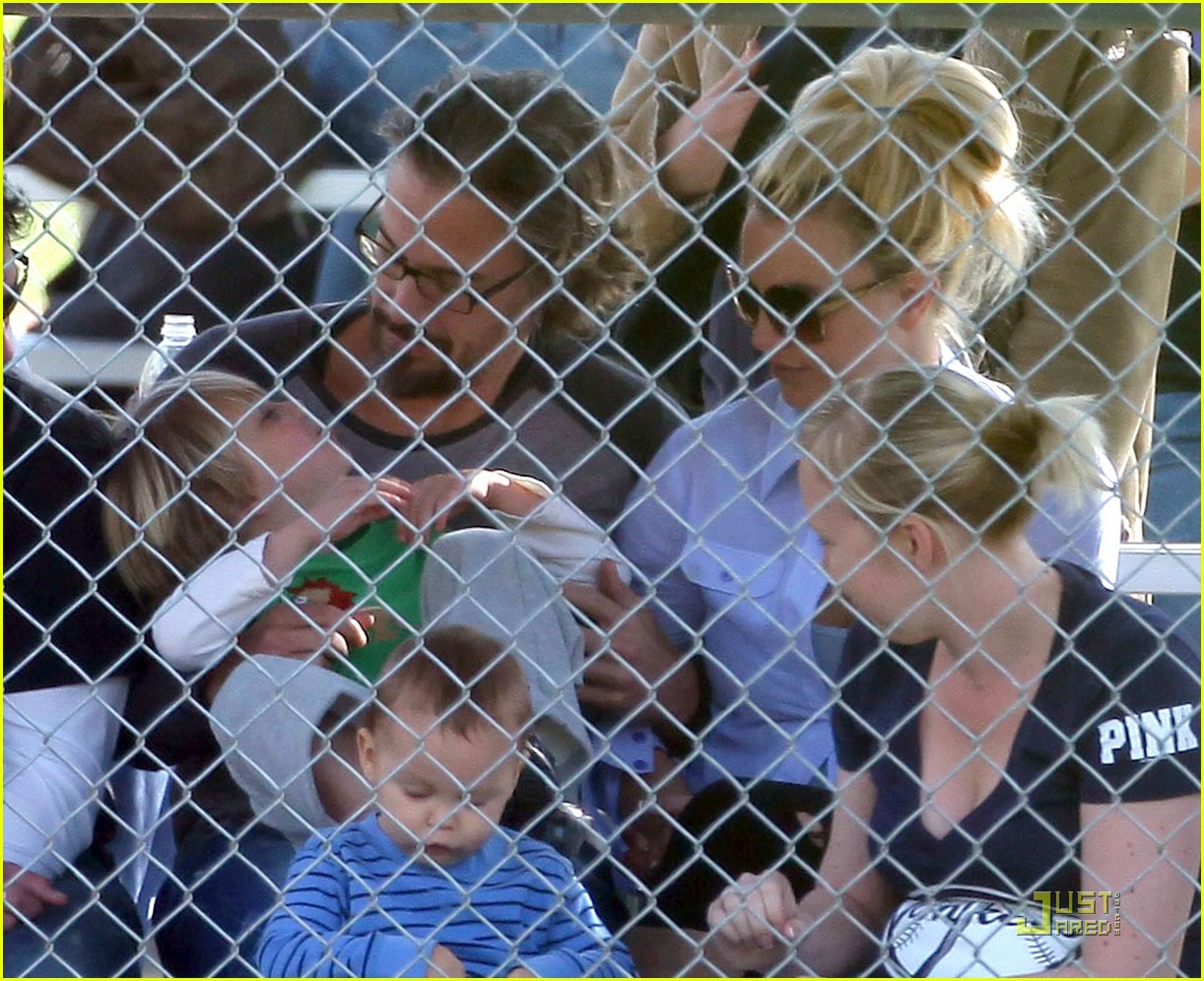 britney spears kevin federline reunite little league 08