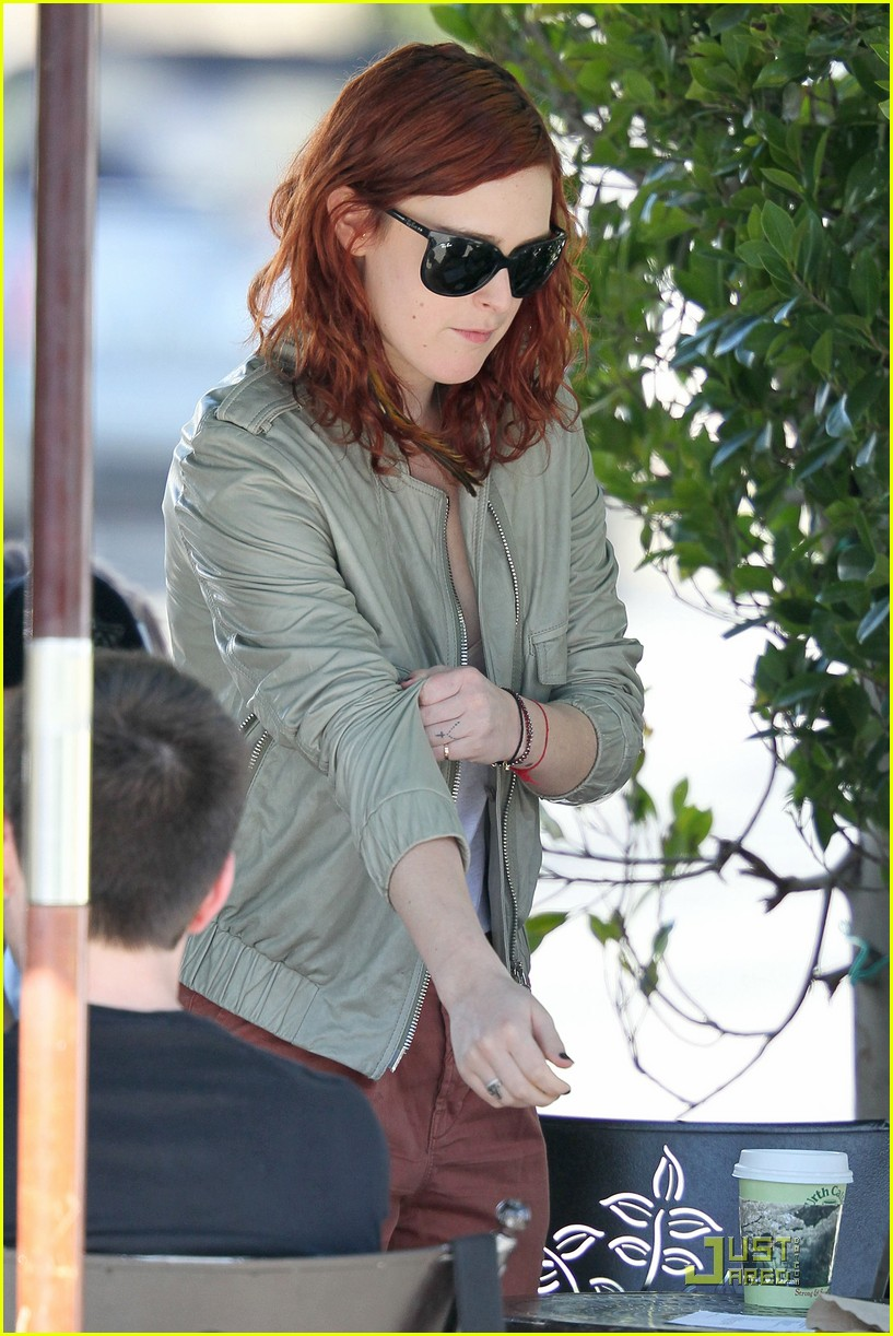 rumer willis lunch with mystery guy 11