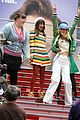 dianna agron times square glee 01