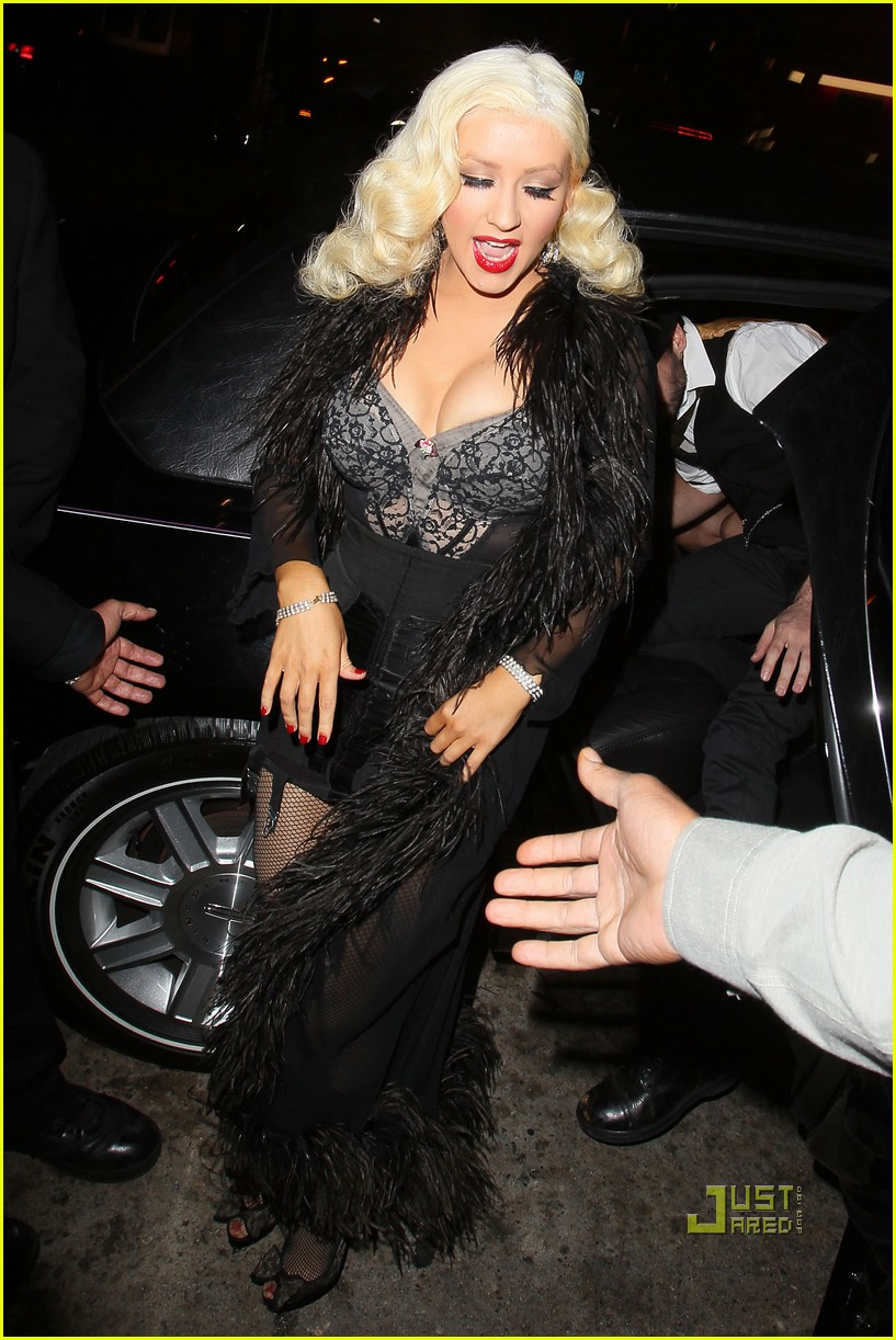 christina aguilera abbey anniversary 14