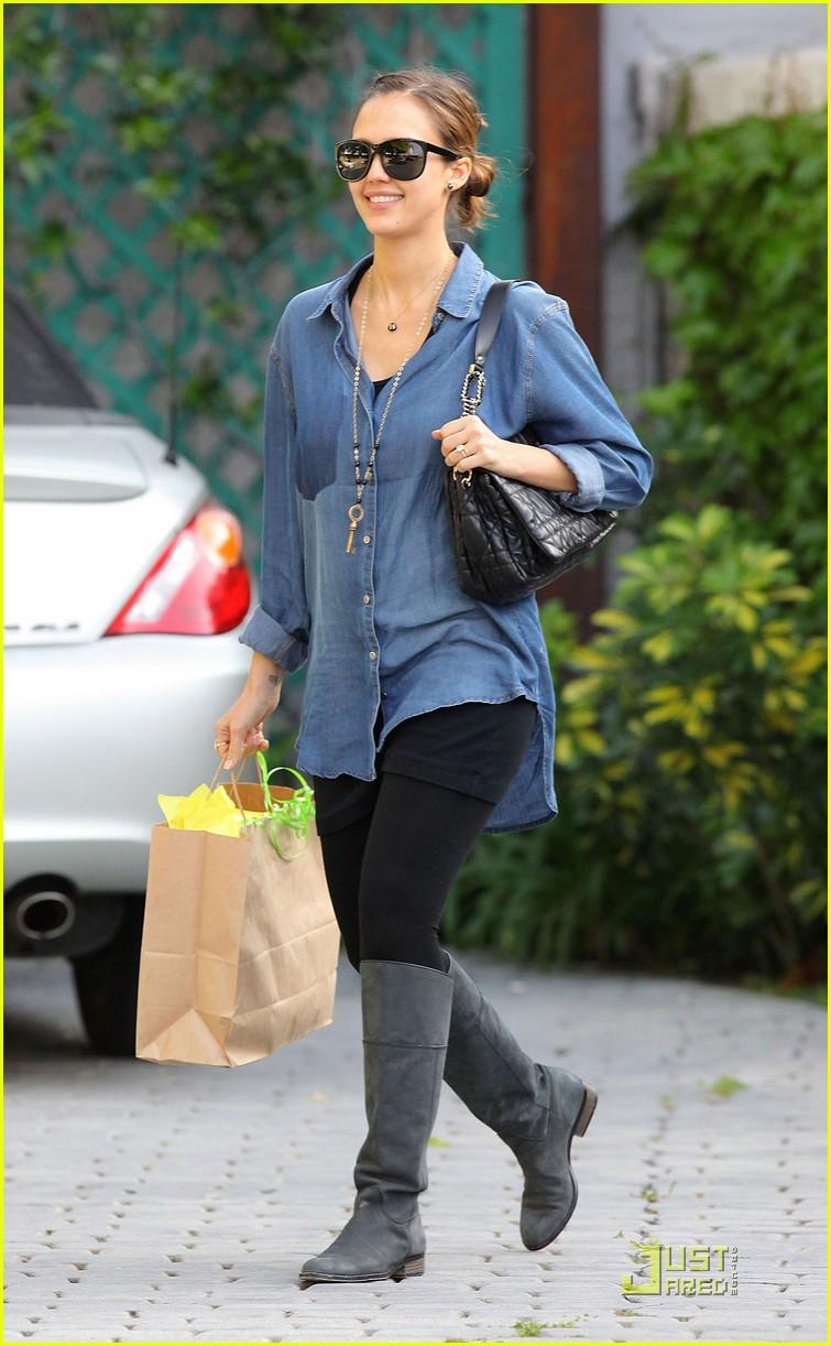 Jessica Alba: 'I Felt Liberated' After Pregnancy!: Photo ...