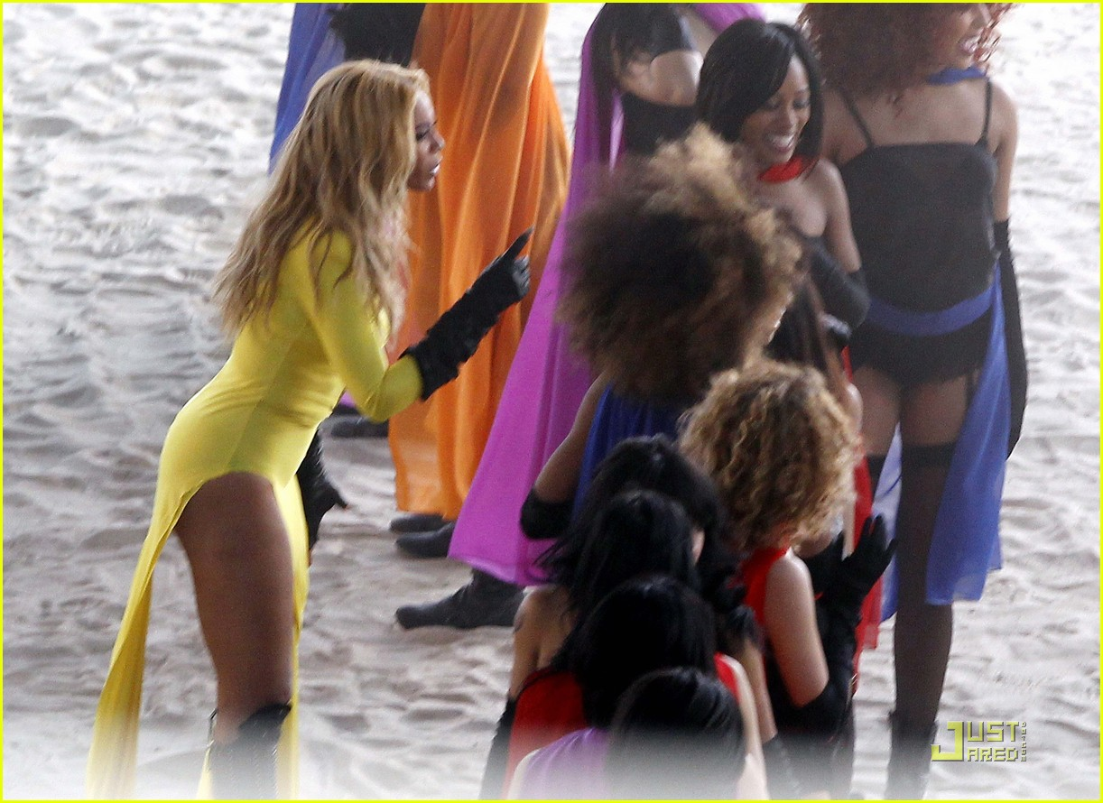 beyonce music video shoot day 3 01