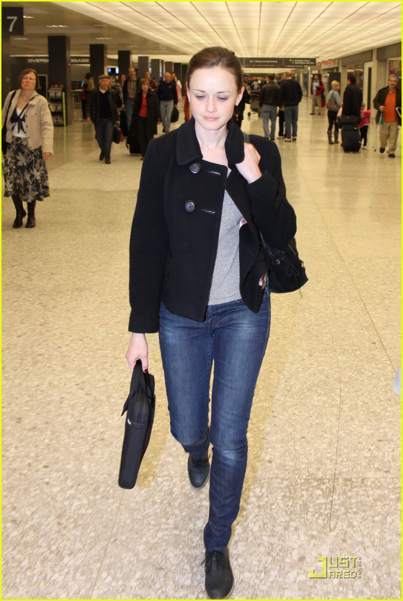alexis bledel washington dc arrival 05