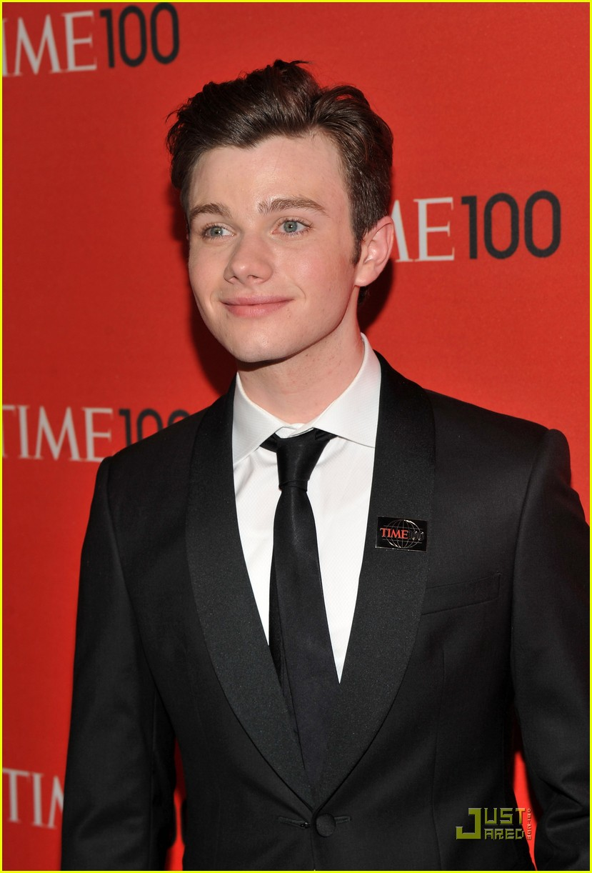 darren criss chris colfer time 100 gala 102538557