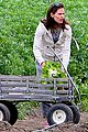jennifer garner vegetable picking with violet and seraphina 12