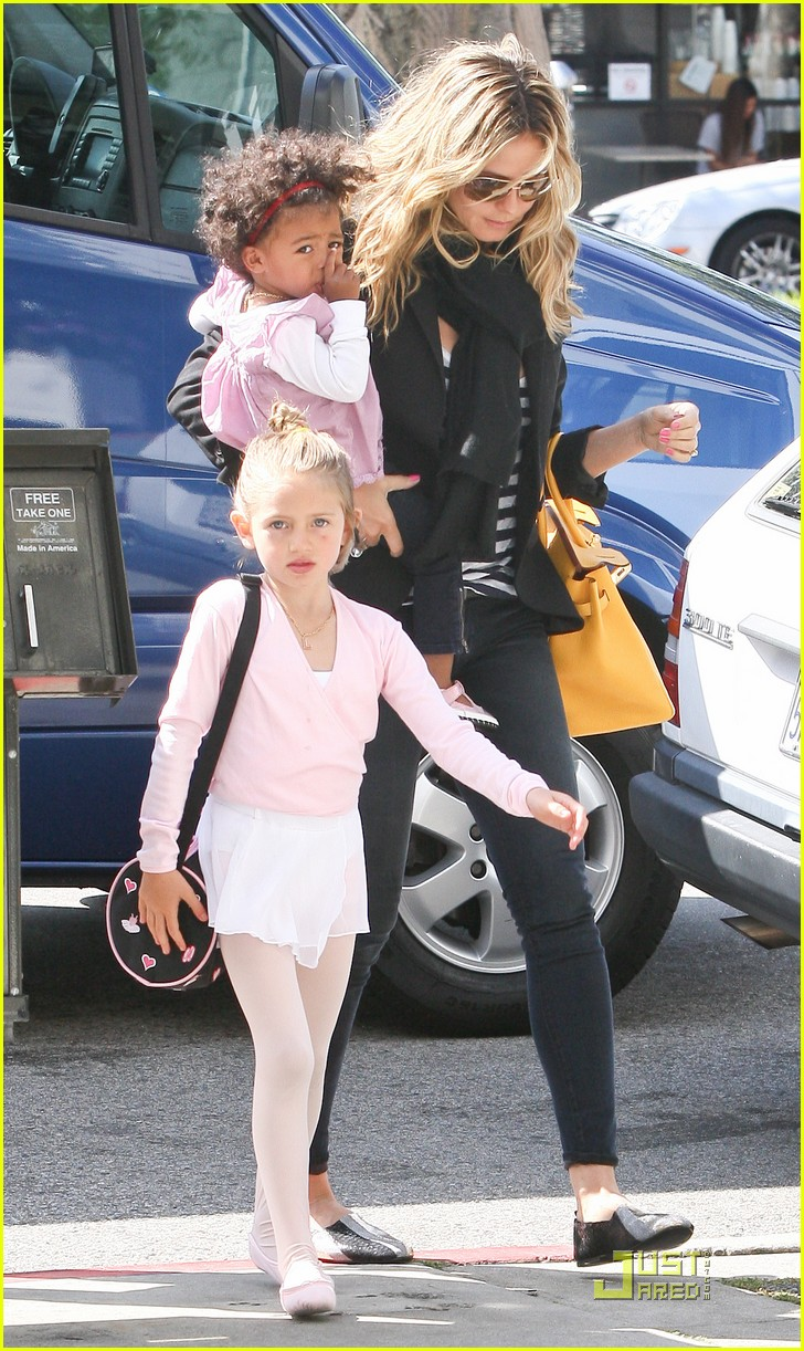 heidi klum family time with the kids 12
