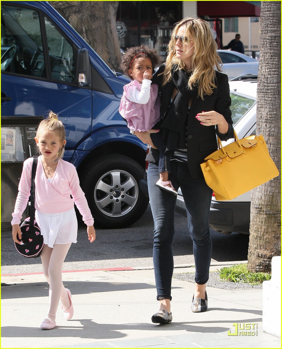 heidi klum family time with the kids 14