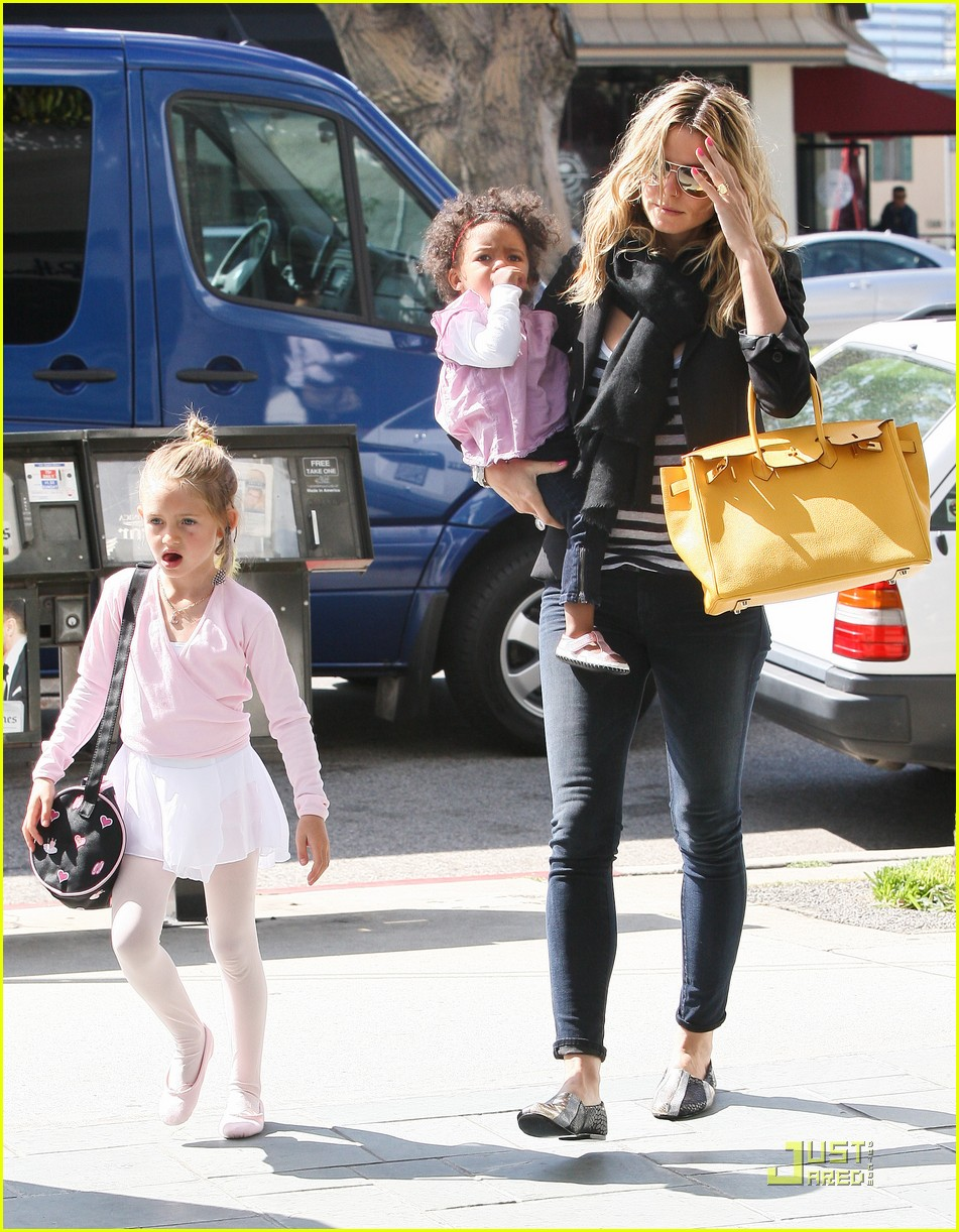 heidi klum family time with the kids 15