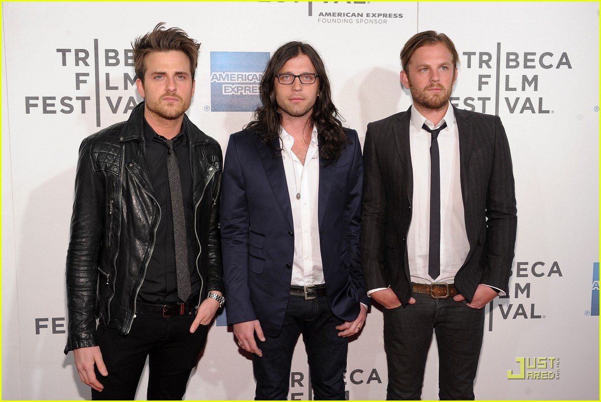 kings of leon 2011 tribeca film festival 10