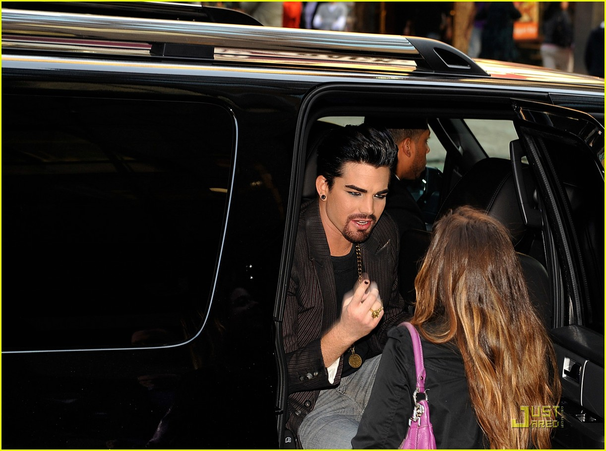 adam lambert facial hair for sister act 062536952