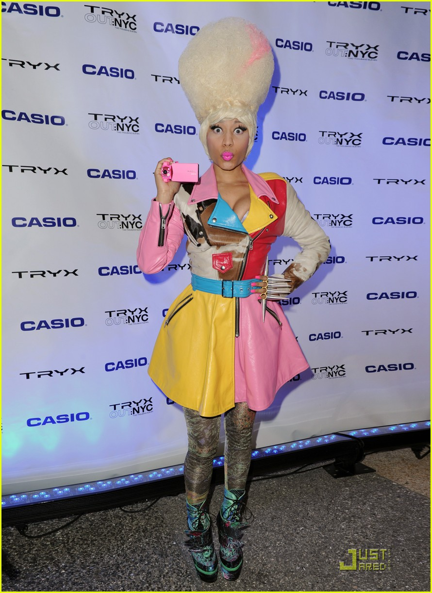 nicki minaj tryx out kickoff party 062533854