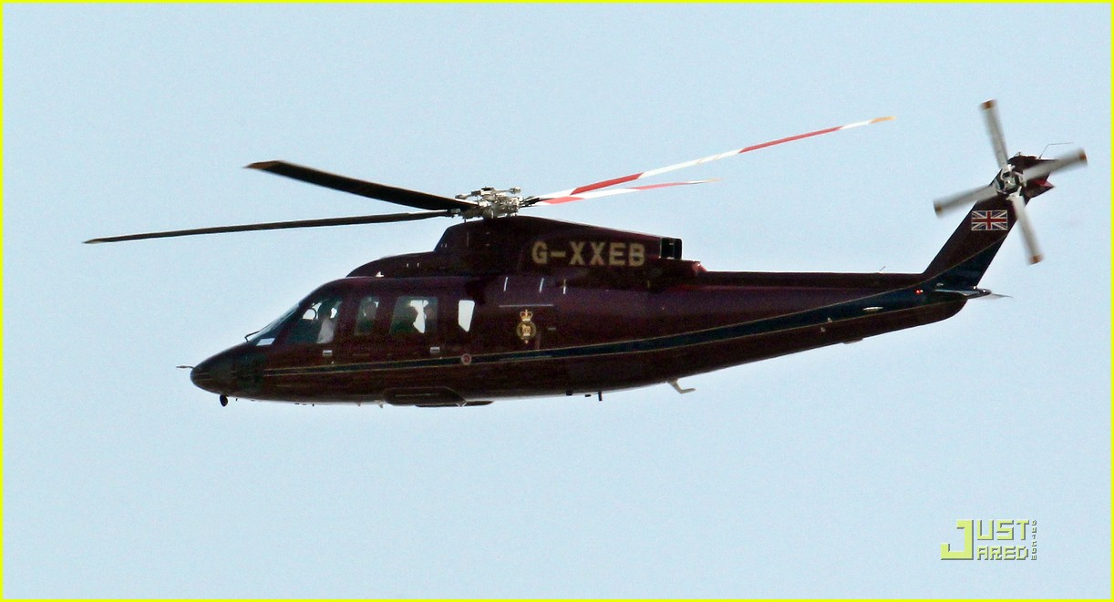 prince william kate middleton helicopter 032539410