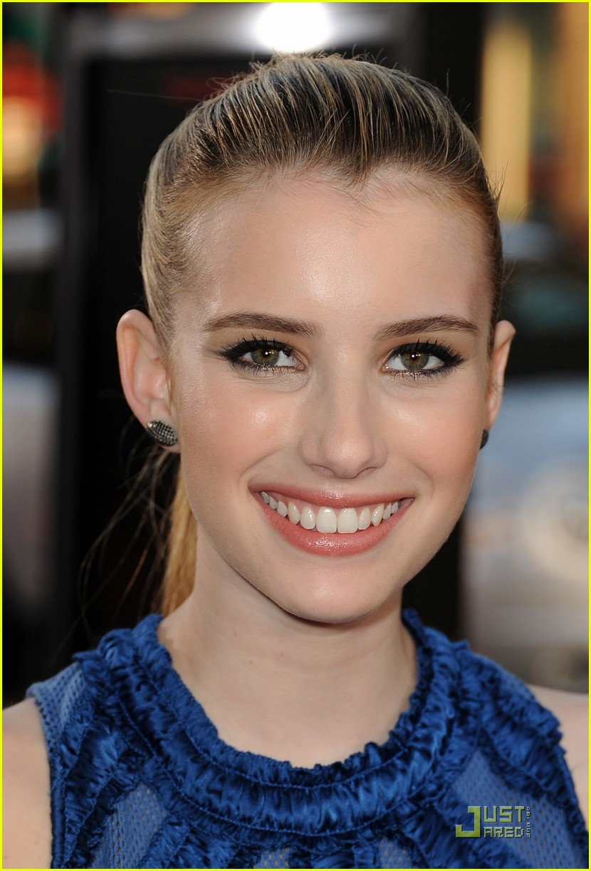 emma roberts scream 4 premiere 02