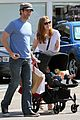 amy adams saturday shopping with darren and aviana 05