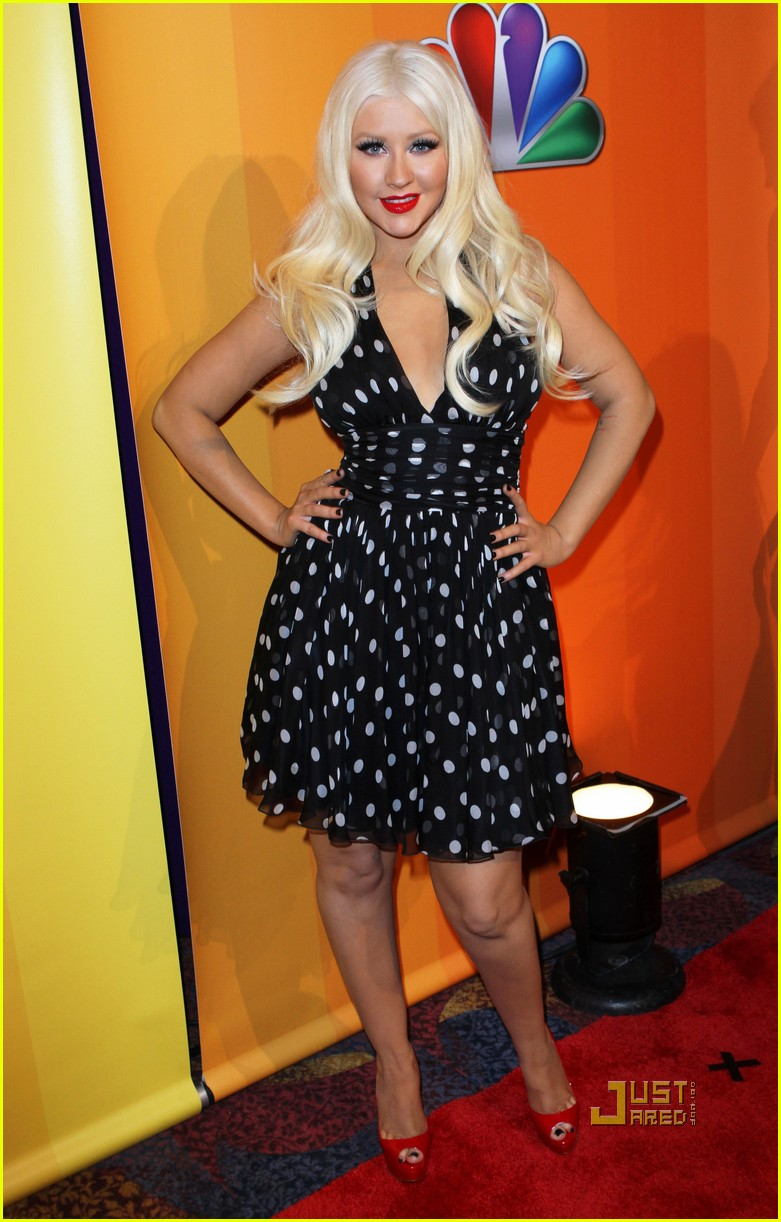 christina aguilera nbc upfronts 02