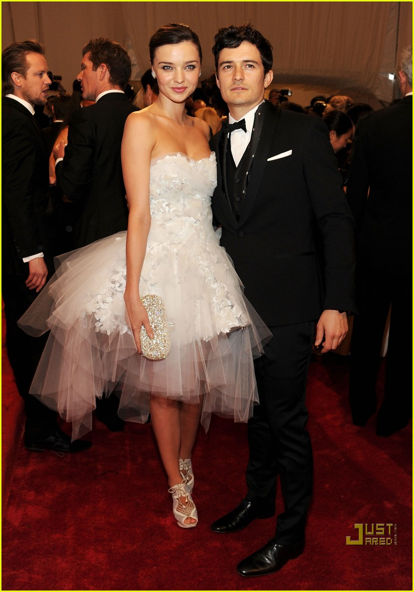 miranda kerr orlando bloom met ball 2011 05