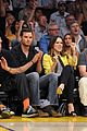 sophia bush austin nichols watch the lakers lose game 2 13