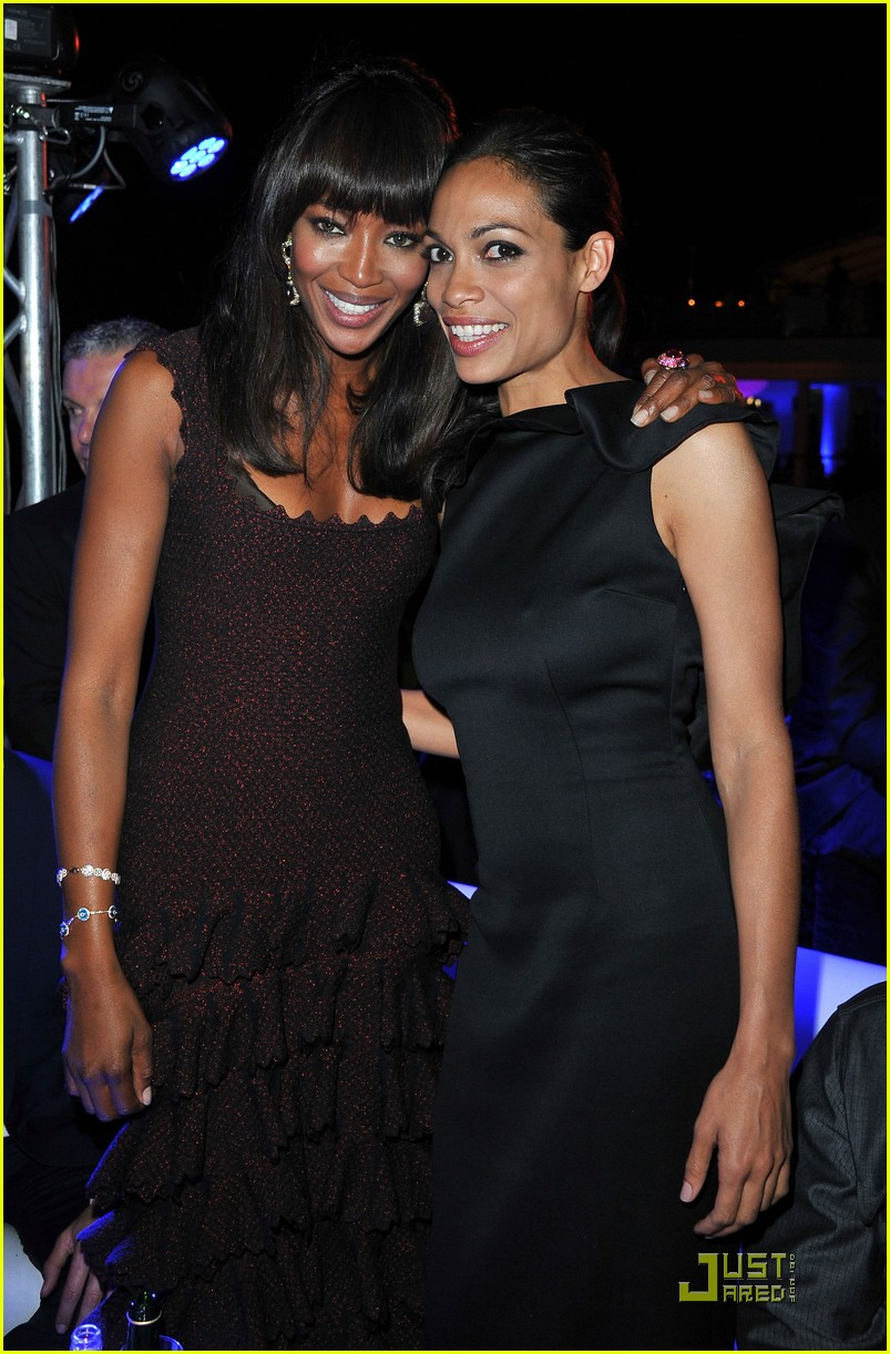 naomi campbell rosario dawson party partners 10