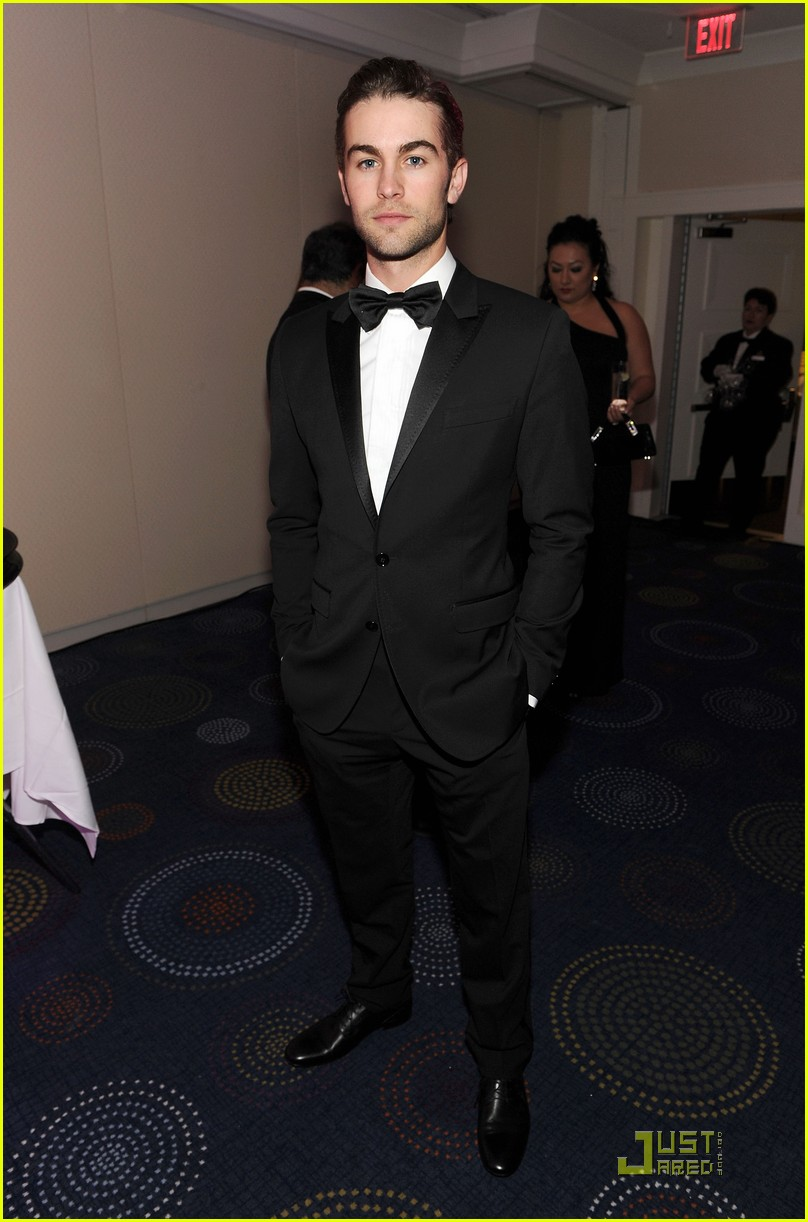 chace crawford white house correspondents dinner 09