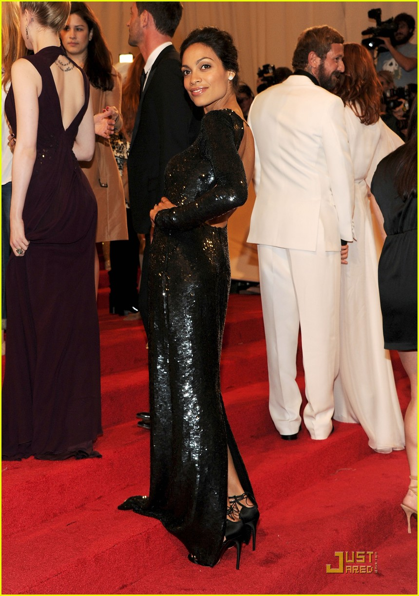 rosario dawson kerry washington mary j blige met ball 2011 13