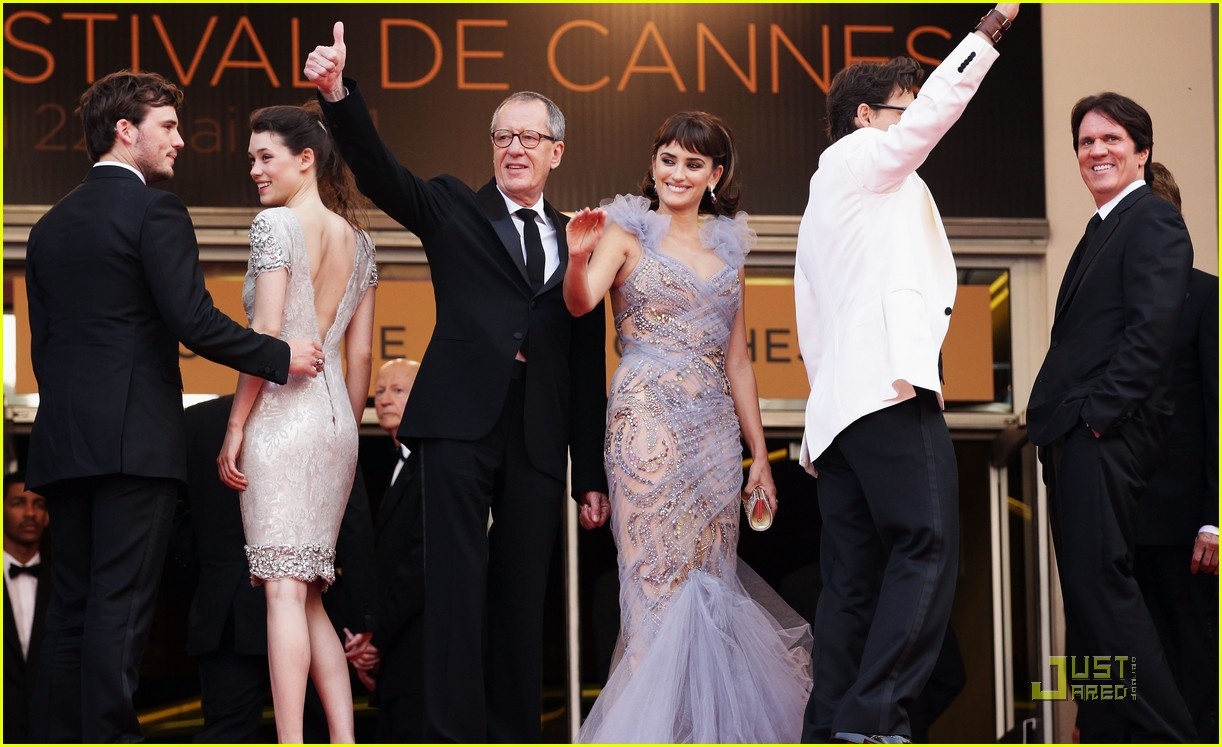 penelope cruz johnny depp pirates premiere cannes 19