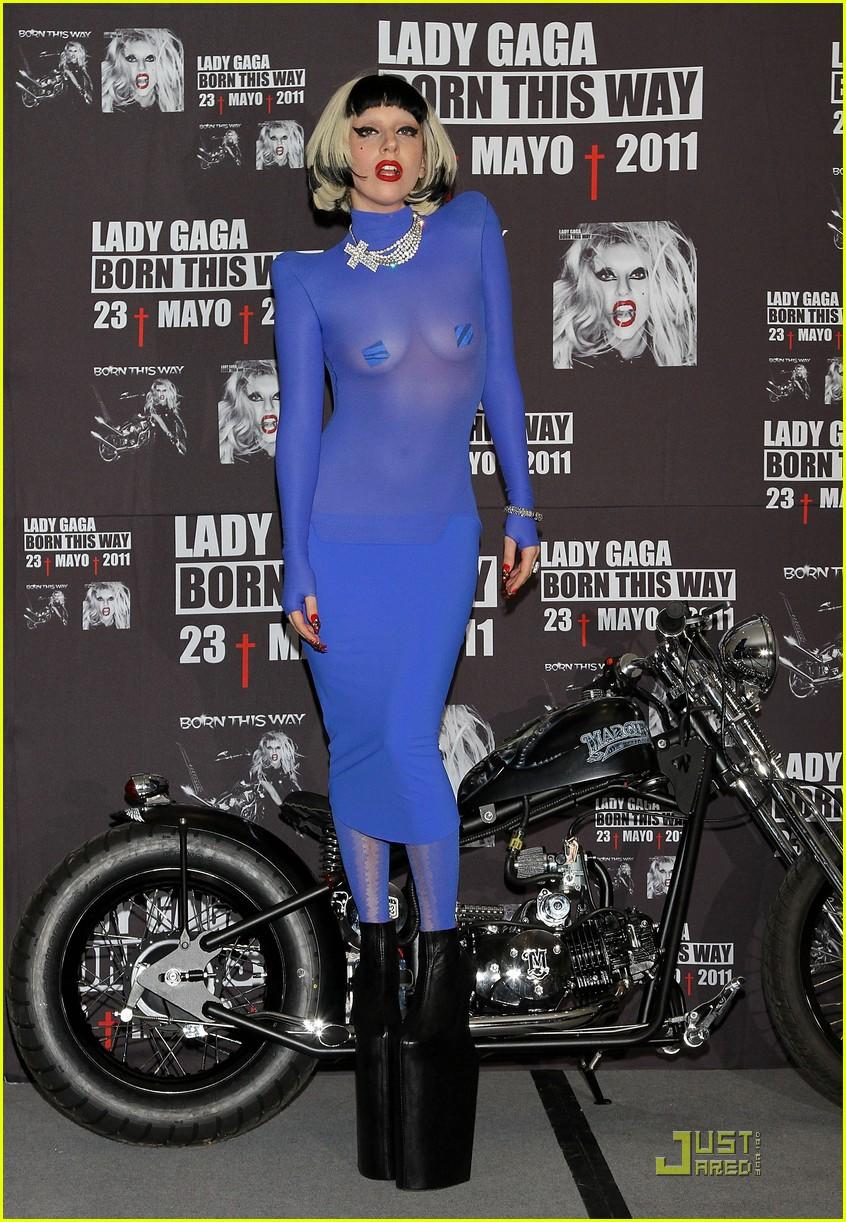 lady gaga platform sheer 05