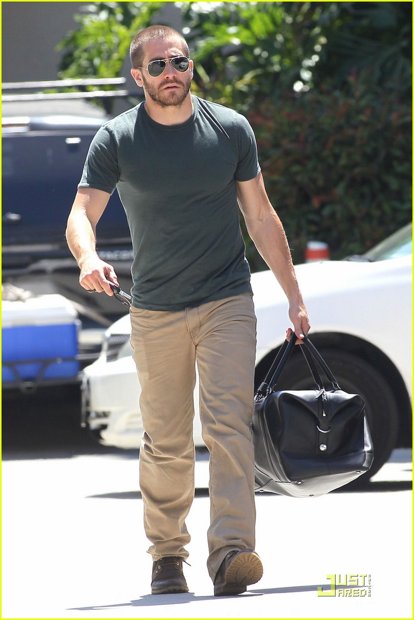 jake gyllenhaal boxing training day 092543420