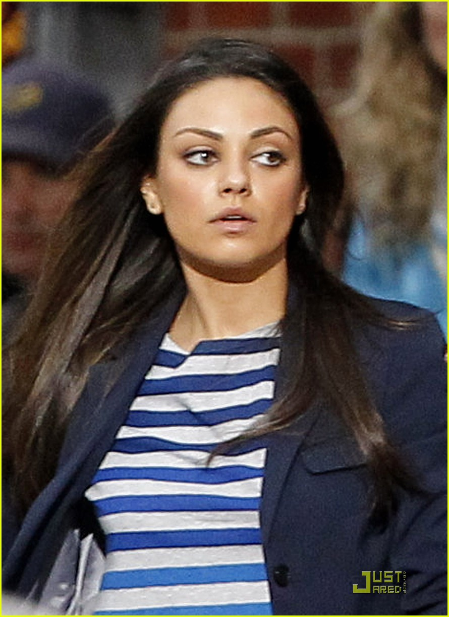 mila kunis takes off for ted 12