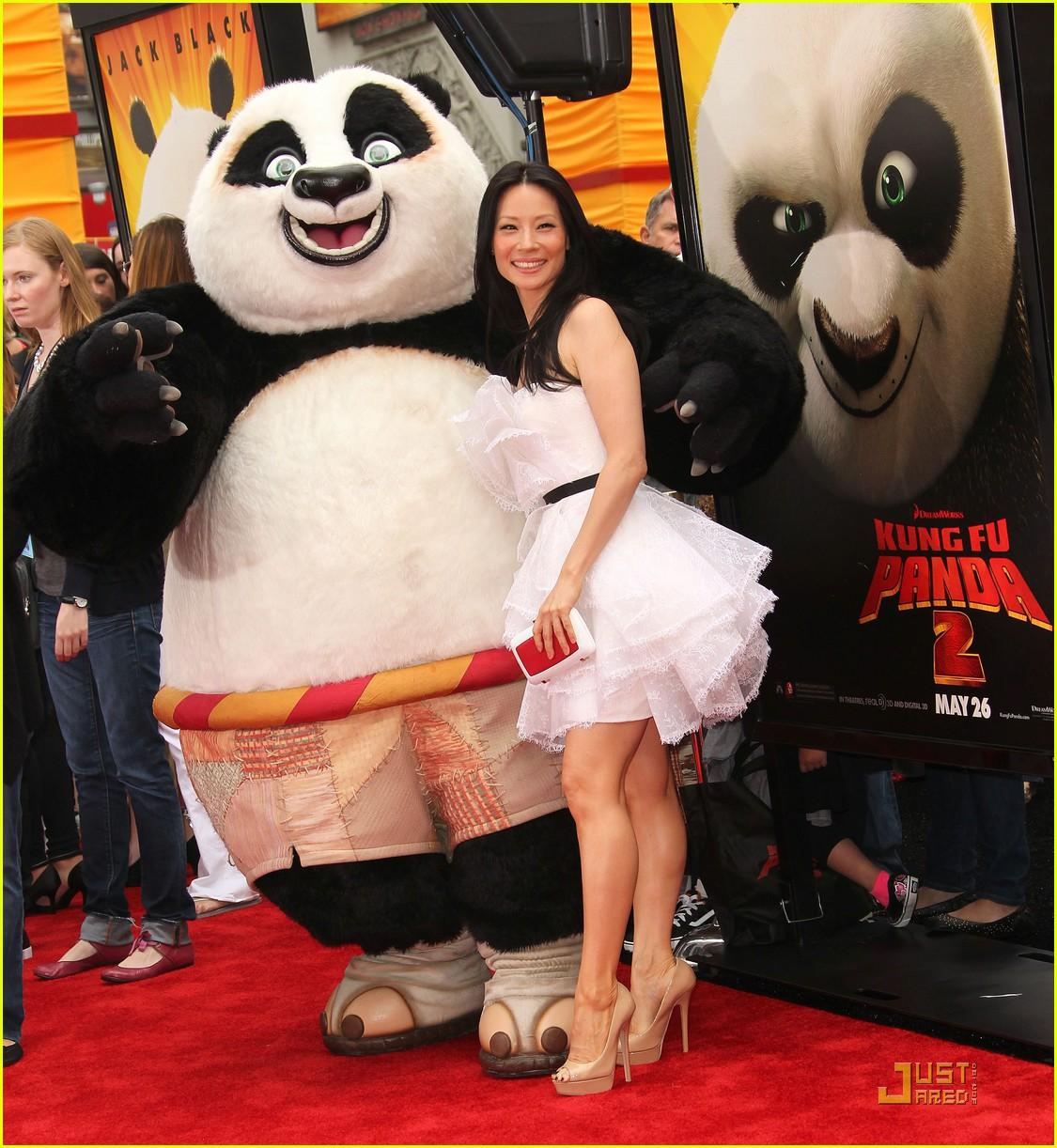 lucy liu kung fu panda la nyc 032546982