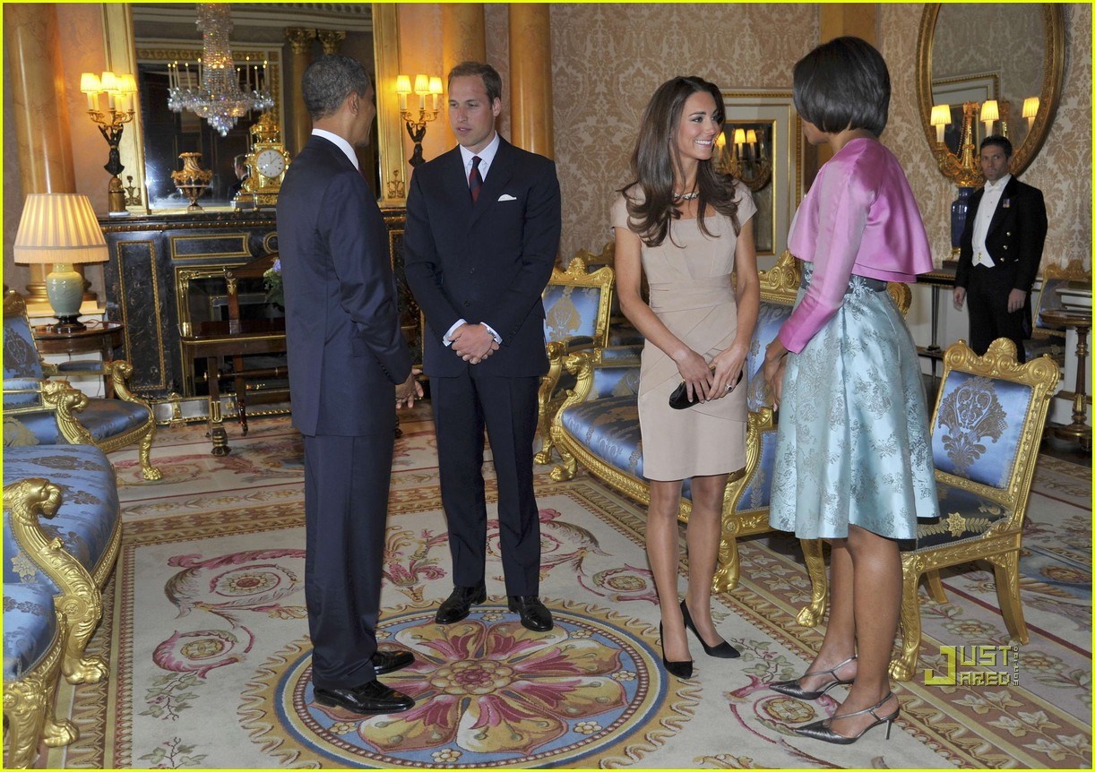 kate middleton prince william meet obama 09
