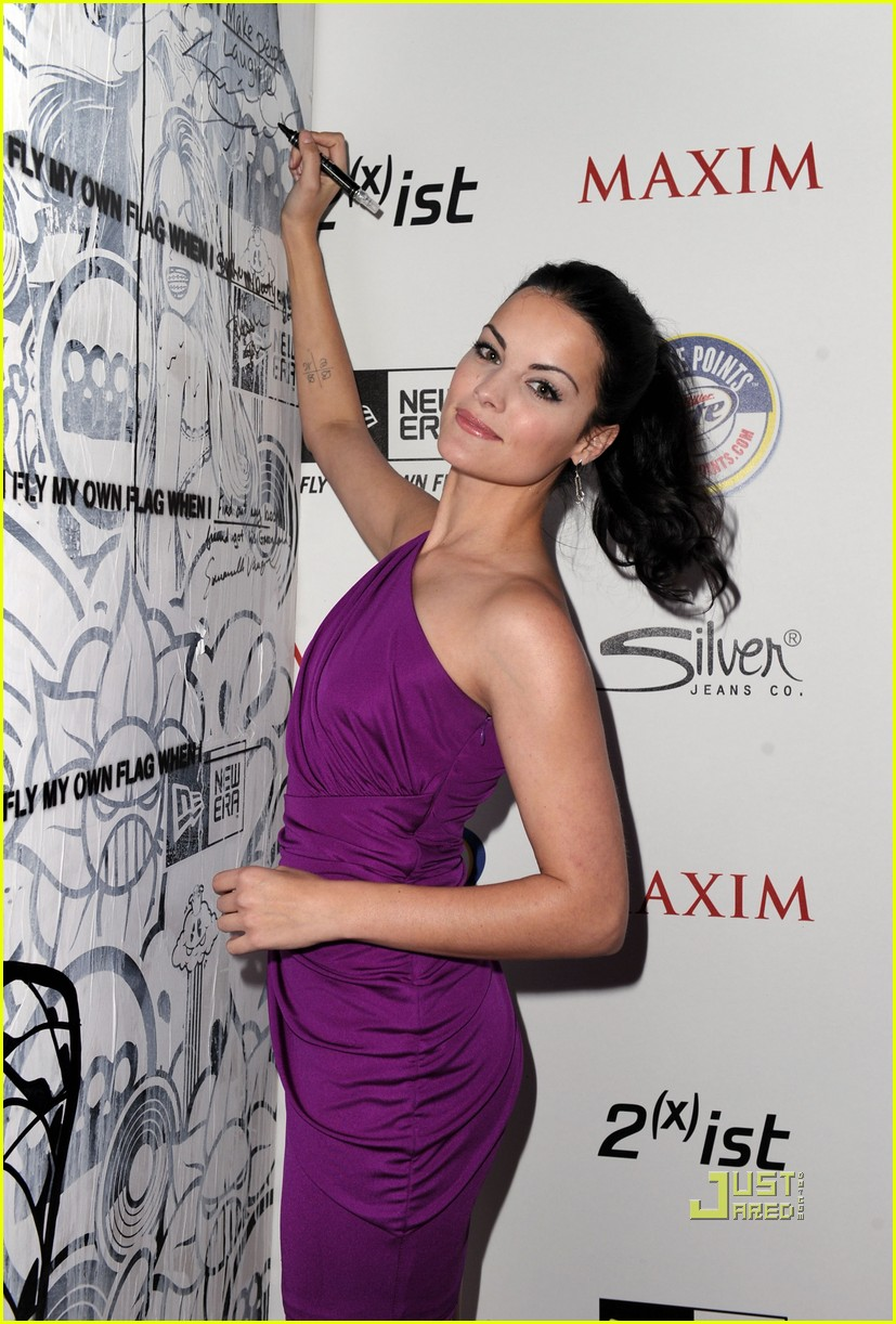 olivia munn jaimie alexander maxim hot 100 party 012543300