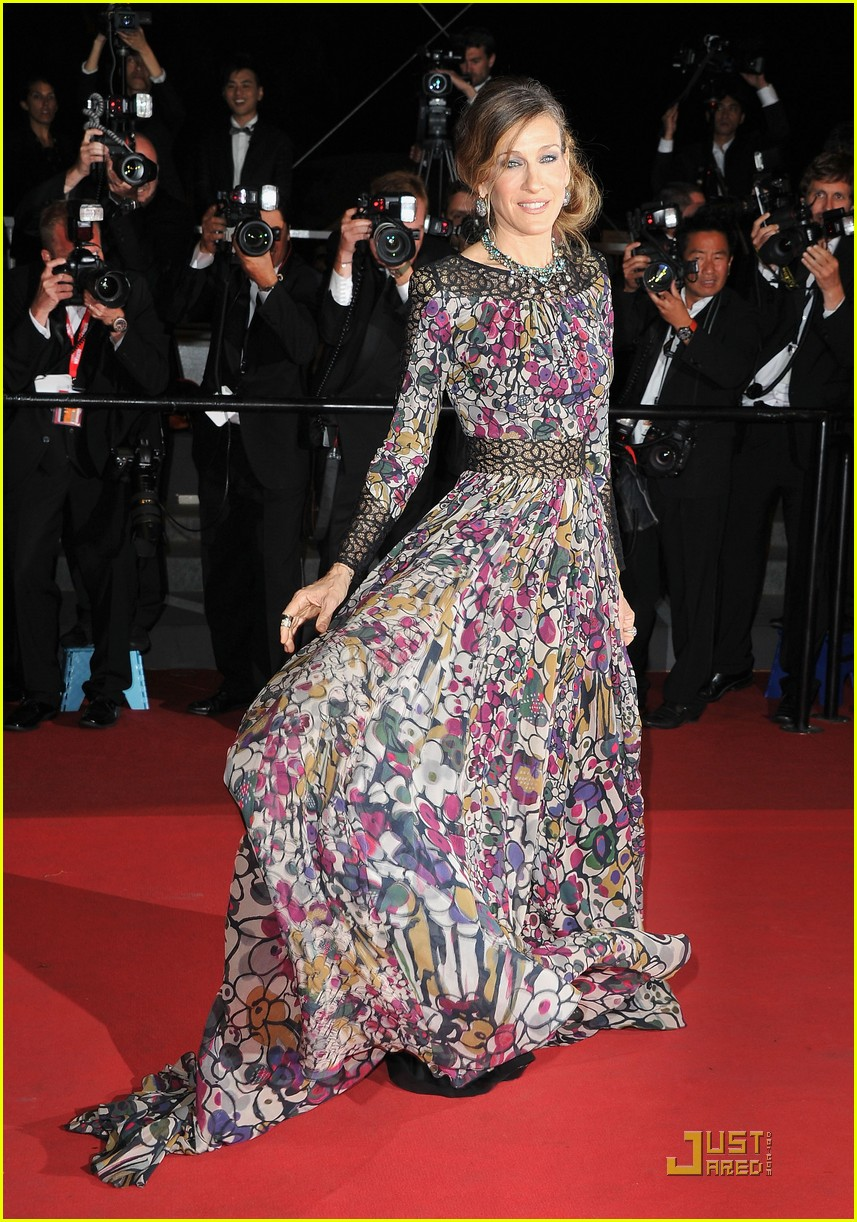 sarah jessica parker cannes wu xia premiere weinstein party 01
