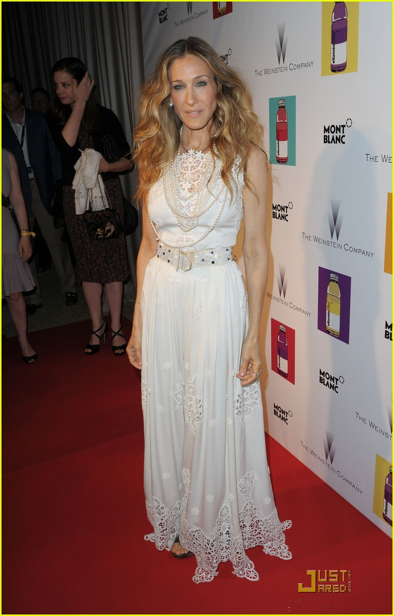 sarah jessica parker cannes wu xia premiere weinstein party 052543928