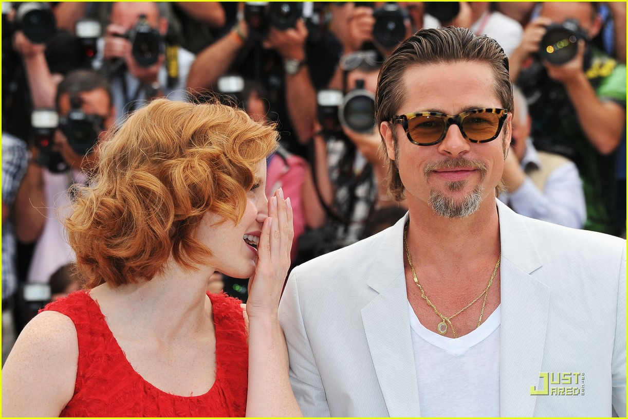 brad pitt cannes tree of life 29