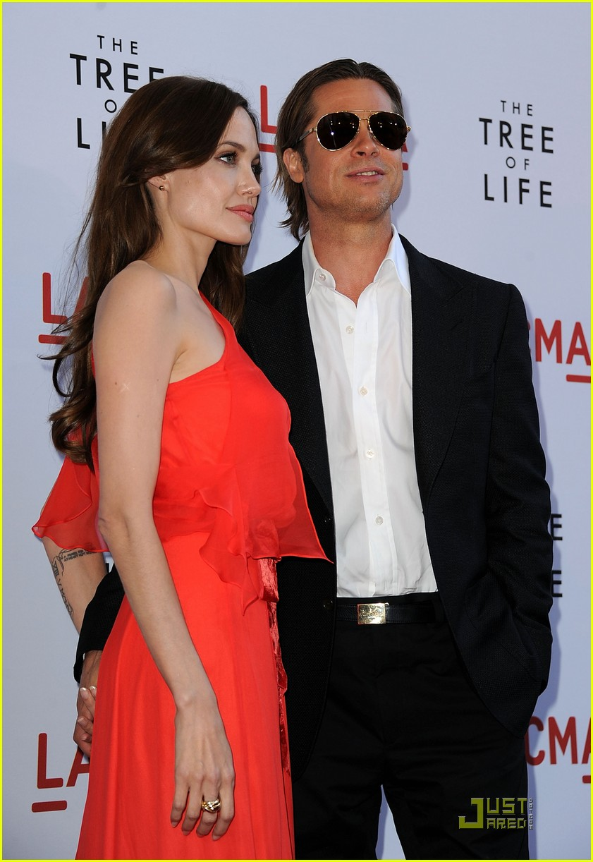 angelina jolie brad pitt tree life screening 09