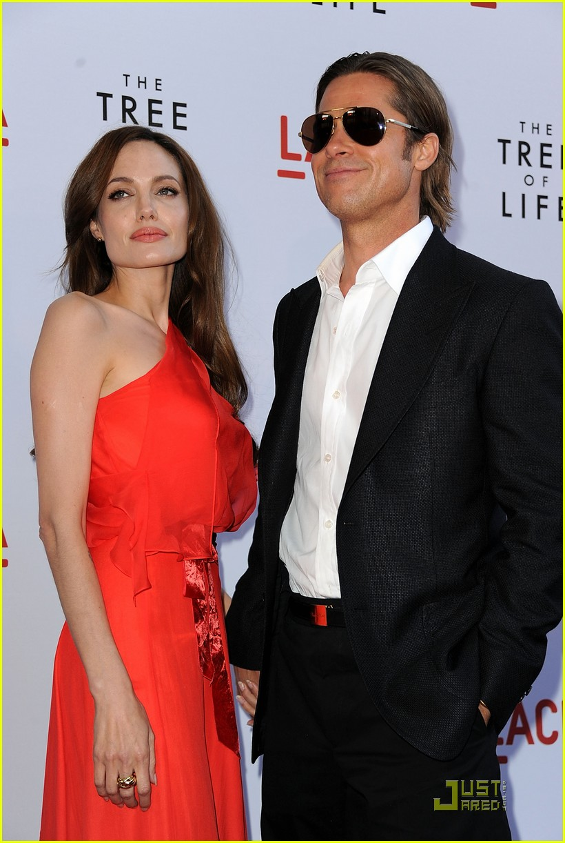 angelina jolie brad pitt tree life screening 11
