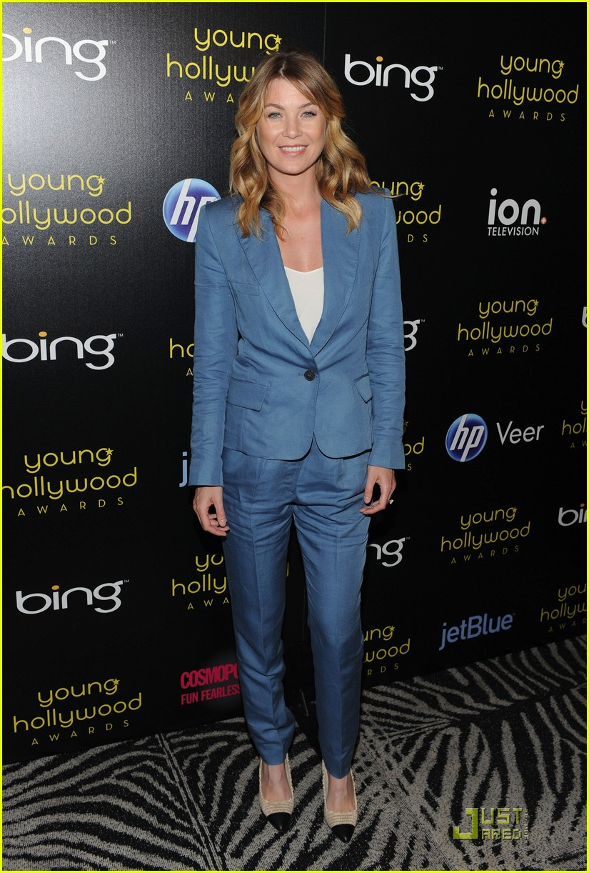 ellen pompeo jesse wililams young hollywood awards 01