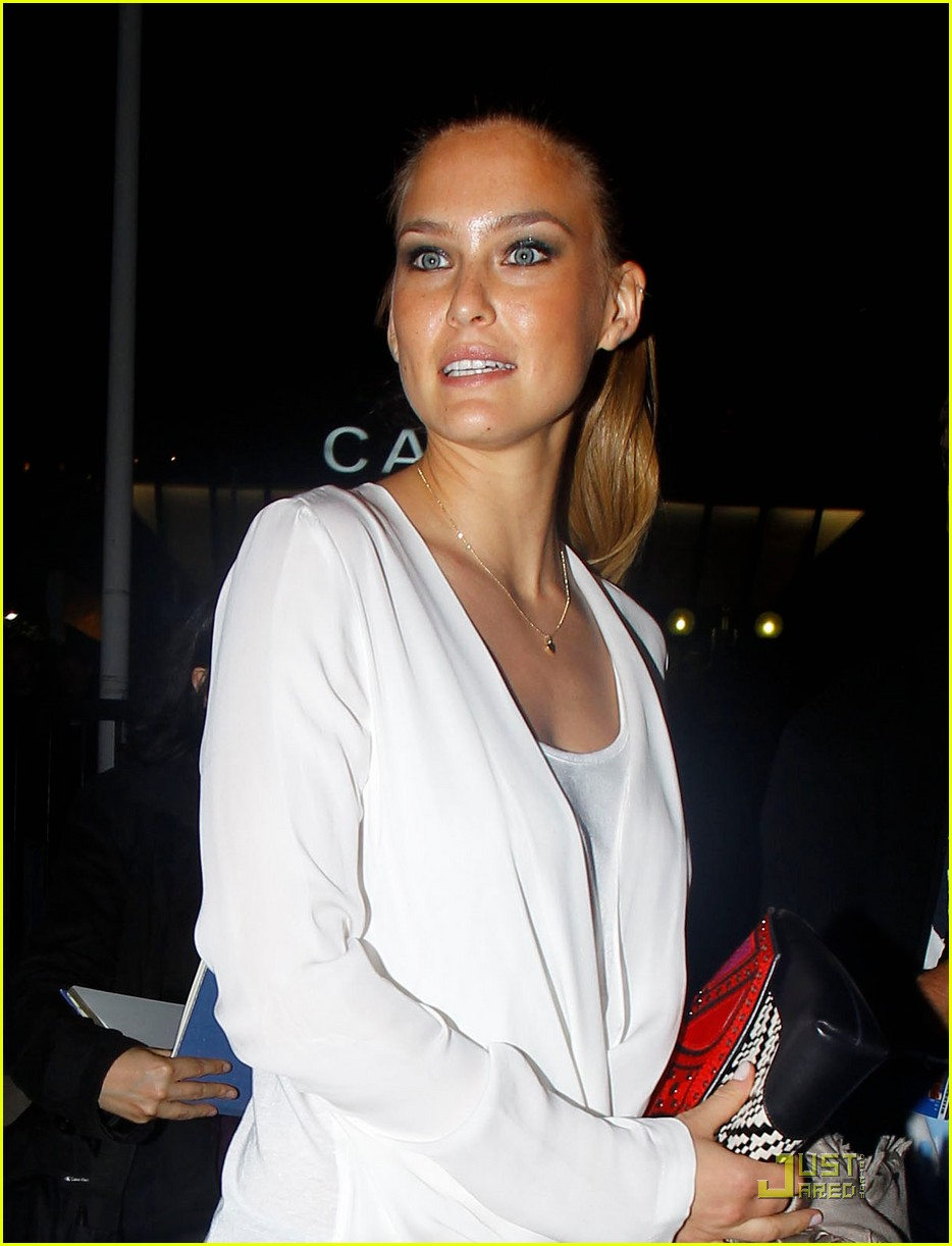 Bar Refaeli: Paul Allen Party in Cannes!
