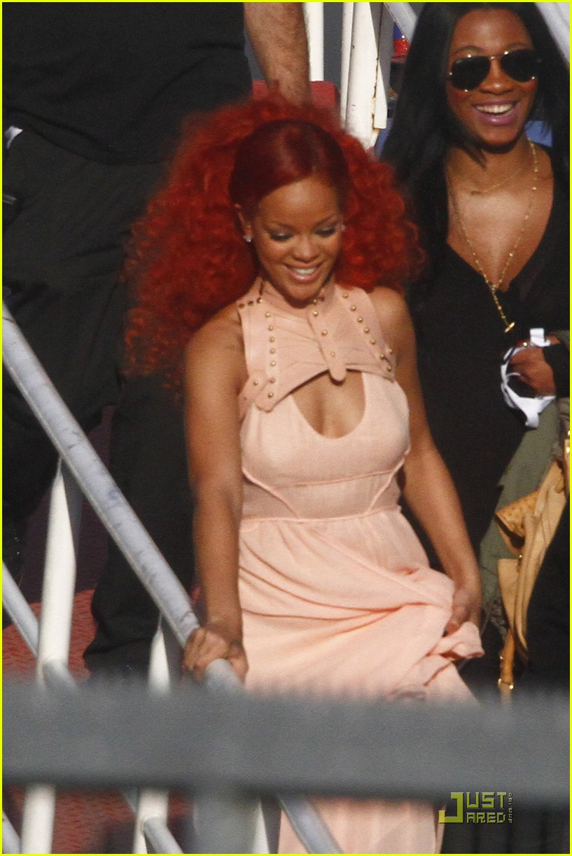 rihanna nivea cruise germany 09