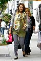 jessica alba fathers day errands beverly hills 08