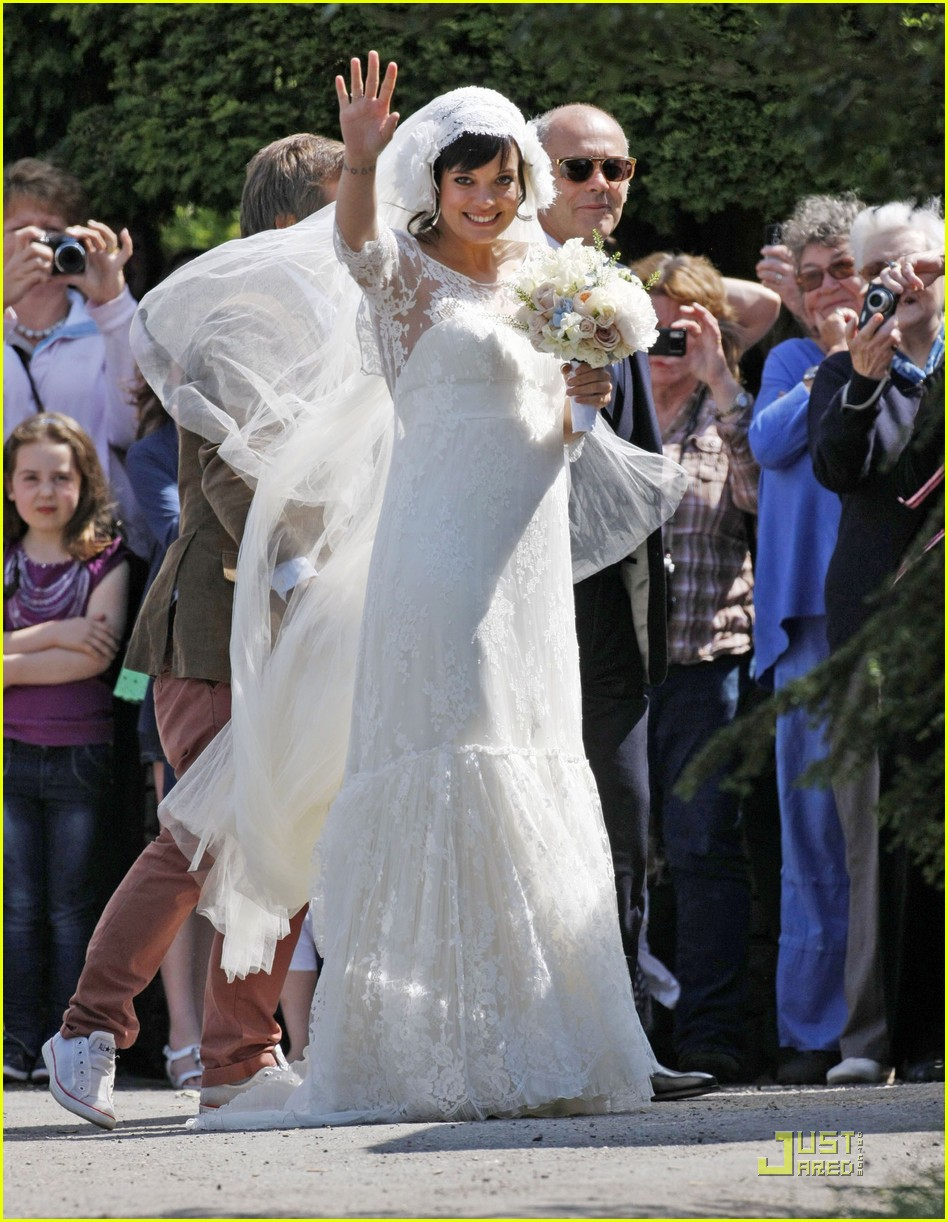 lily allen sam cooper wedding 01