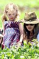 rachel bilson vegetable picking with hattie and rosemary 05