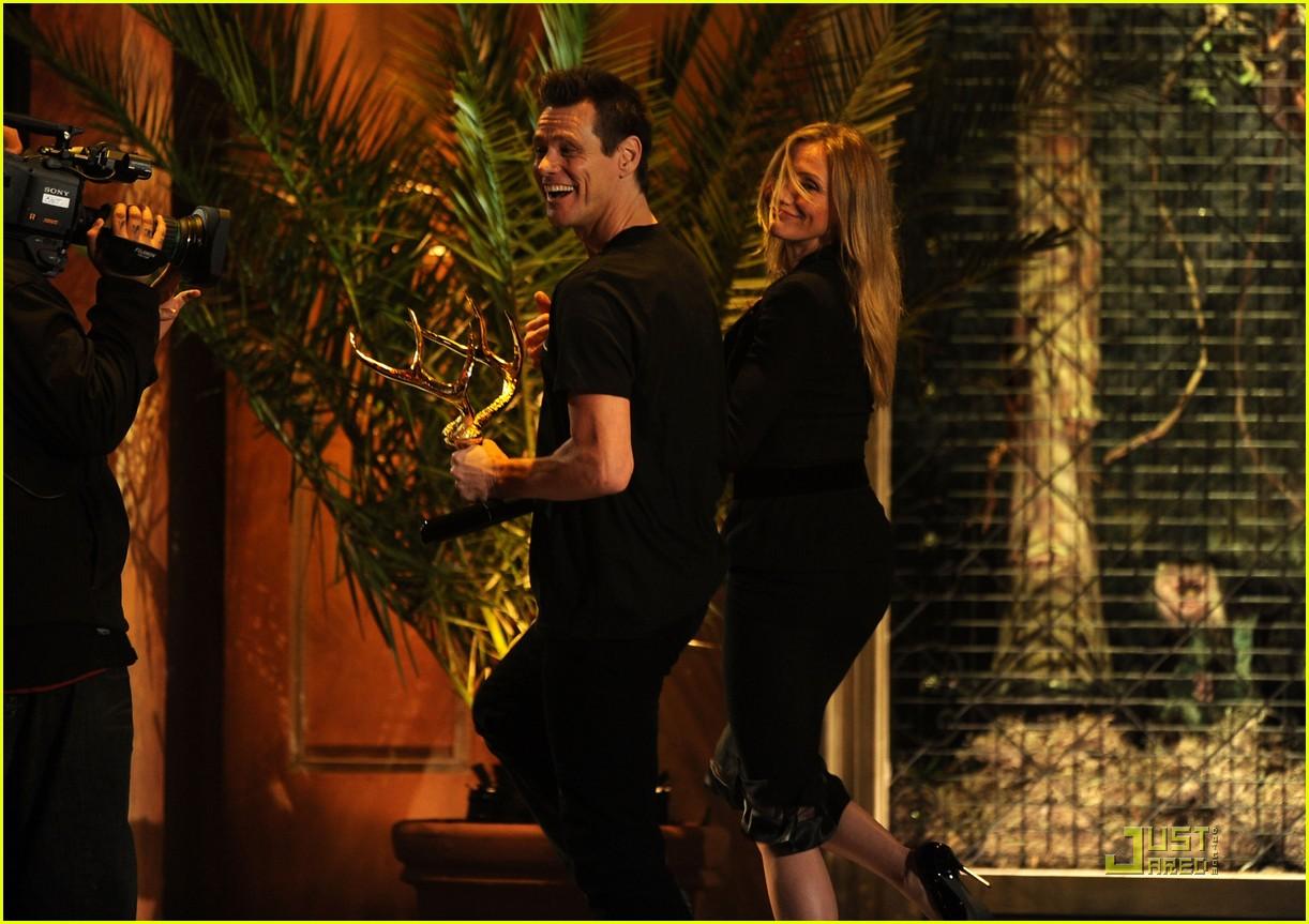 Cameron Diaz & Jim Carrey - Guys Choice Awards 2011 Cameron Diaz