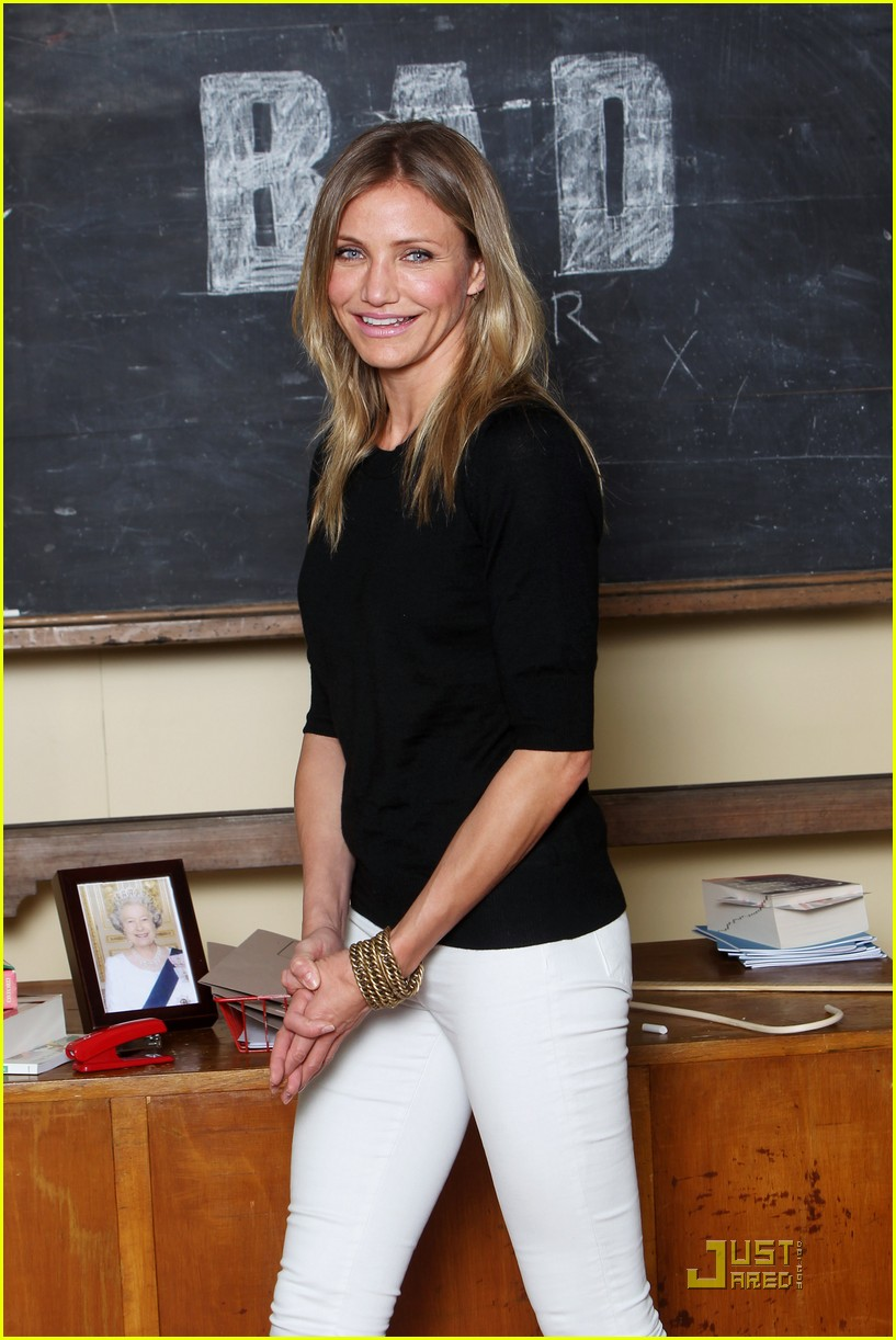 cameron diaz bad teacher london 09