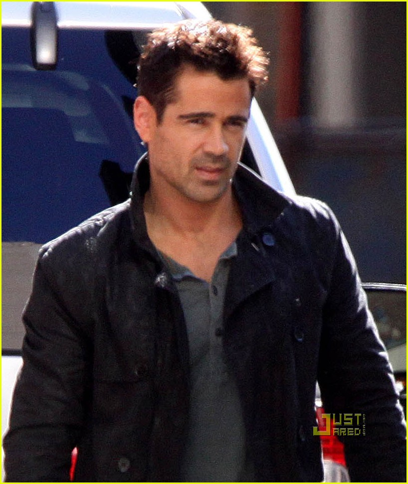 Colin Farrell: 'Total Recall' in Toronto!: Photo 2552801 ...