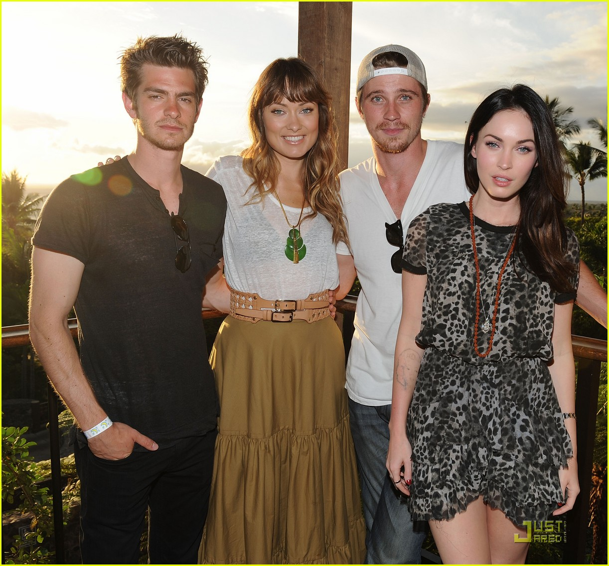 Full Sized Photo Of Andrew Garfield Megan Fox 2011 Maui